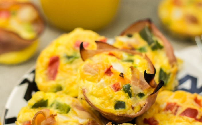 Muffin Tin Egg Bake